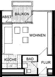 pin grundriss einer wohnung on pinterest. Black Bedroom Furniture Sets. Home Design Ideas